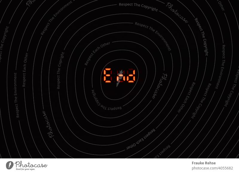 """""""End"""" in red illuminated lettering against a black background end stop Completed Red Orange Black neon sign Illuminate Light up Letters (alphabet) Characters"""