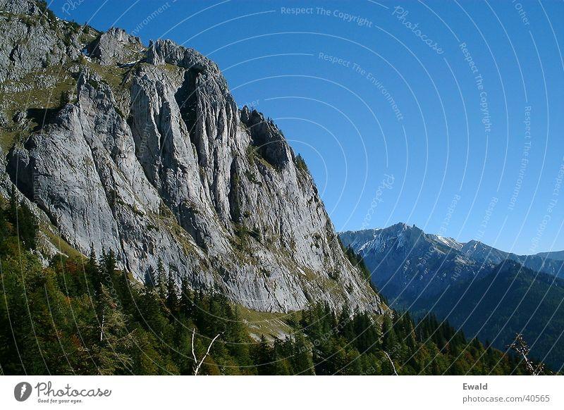 Hochschwab Mountain Rock Climbing Mountain hiking Blue sky