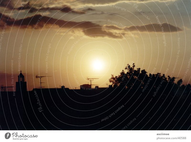 my sundown no.01 Sunset