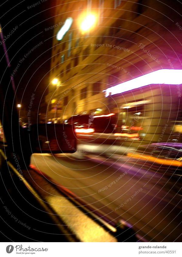 City Car Transport Driving Night life