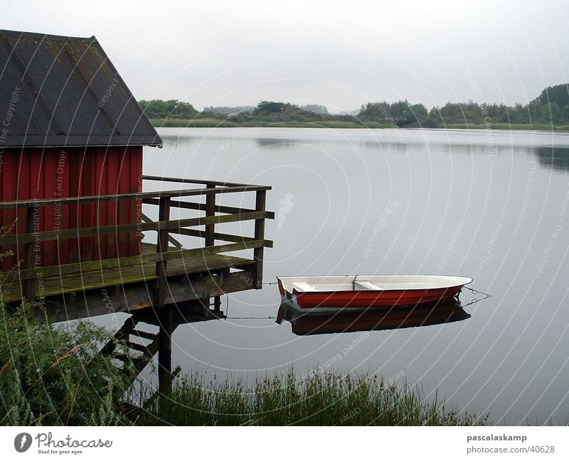 Lake Watercraft House (Residential Structure) Hut Denmark