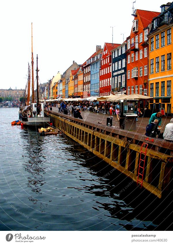 Copenhagen House (Residential Structure) Le vieux port Europe Harbour Denmark