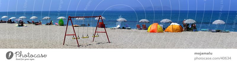 Sun Ocean Beach Europe Sunshade Beautiful weather Swing Protection