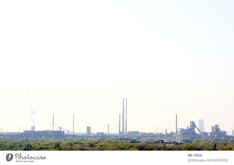Industrial landscape Industrial architecture Emission Heavy industry Thermal power station Work and employment The Ruhr Industry Industrial heritage
