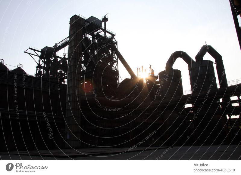 steel mill Industry Blast Furnaces Mine Steel factory Industrial heritage Steel production Coking plant Industrial plant Heavy industry Industrial architecture