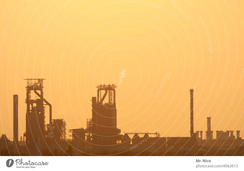 industrial romance Harmful substance Dirty Climate protection Energy industry Steel industry Environmental pollution Industrial architecture Blast Furnaces