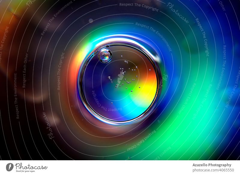 Abstract ball with spectrum colors and air bubbles. abstract abstract background abstract circle analysis backdrop beam beautiful beauty blur blurry bokeh