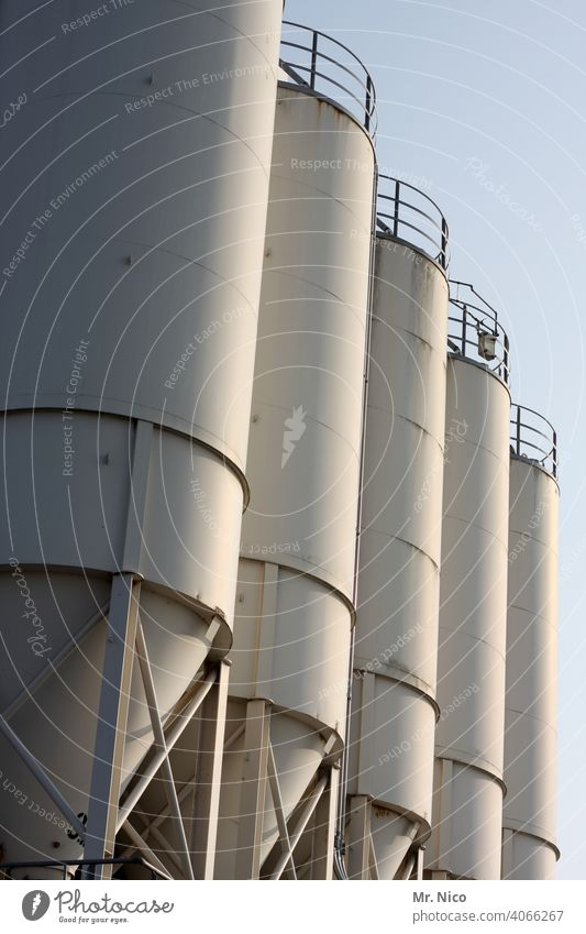 5 silo Silo Industrial Photography Steel silage Sky Old Rust Industrial district Industrial plant Industry Factory Agri trade Manmade structures Storage store