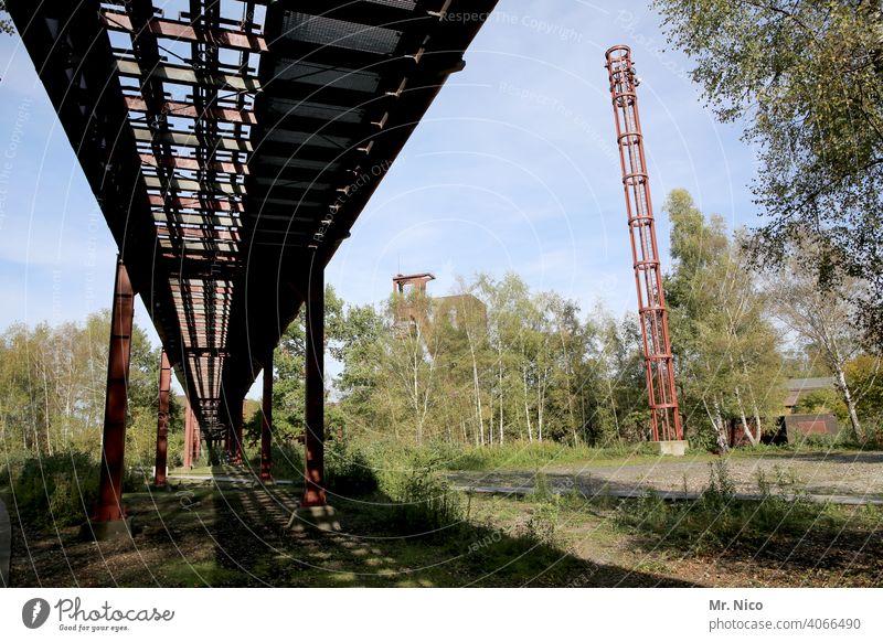 green coal mine Zollverein Essen 'Zollverein' mine Mine Industry Industrial plant Industrial architecture Industrial heritage Steel factory Coking plant