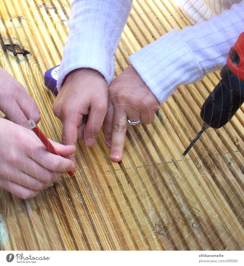 Youth (Young adults) Work and employment Wood Planning Technology Construction site Handicraft Electrical equipment