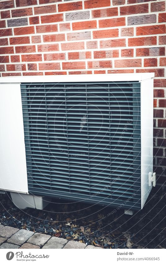 Air source heat pump - an ecological, modern & environmentally friendly heating system Air-to-water heat pump Warmth heating engineering Heating