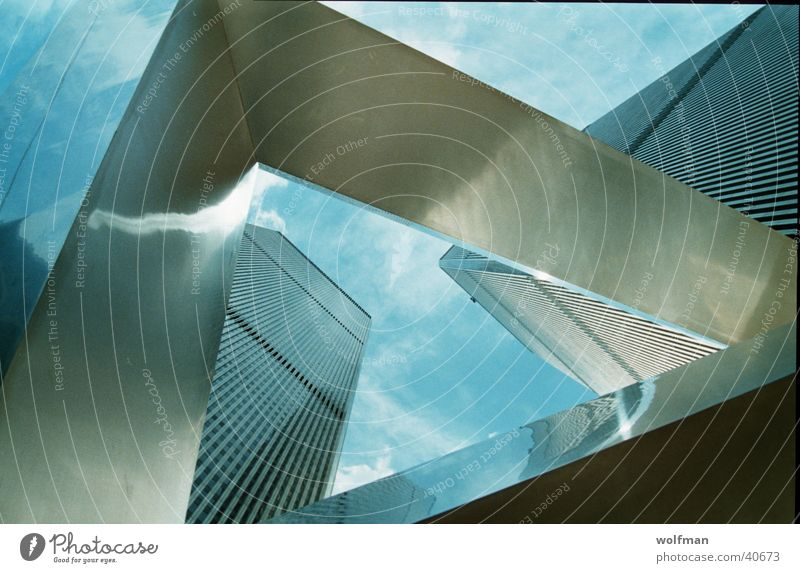 WTC World Trade Center New York City Monument Human being Architecture wolfman 9/11 Sky Tower wk@weshotu.com