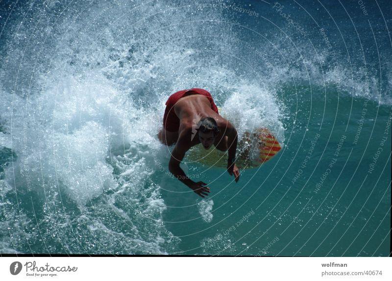 skiboarder Hawaii Ocean Action Waikiki Beach Sports Water Movement wolfman wk@weshotu.com