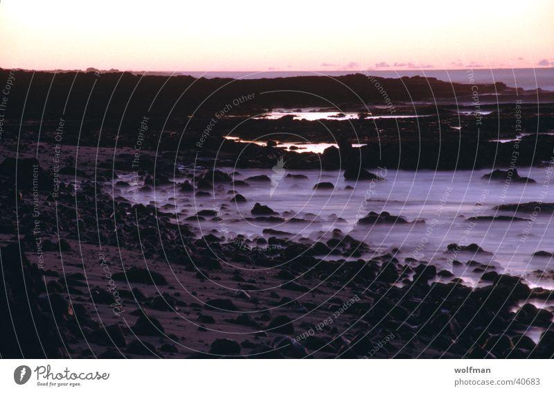 sunset Sunset Hawaii Ocean Night Waves Beach Violet Mauna Kea Steam dawn wolfman wk@weshotu.com Stone Water