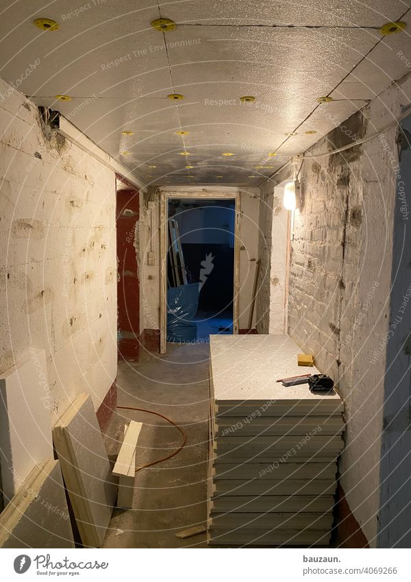 basement ceiling insulation. Cellar Construction site Craft (trade) Wall (building) Wall (barrier) Deserted Redecorate Insulation Blanket Redevelop Old building