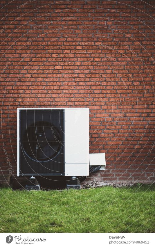 Air source heat pump - Future-oriented Air-to-water heat pump Warmth heating engineering Heating Environmental protection Ecological Innovative Sustainability