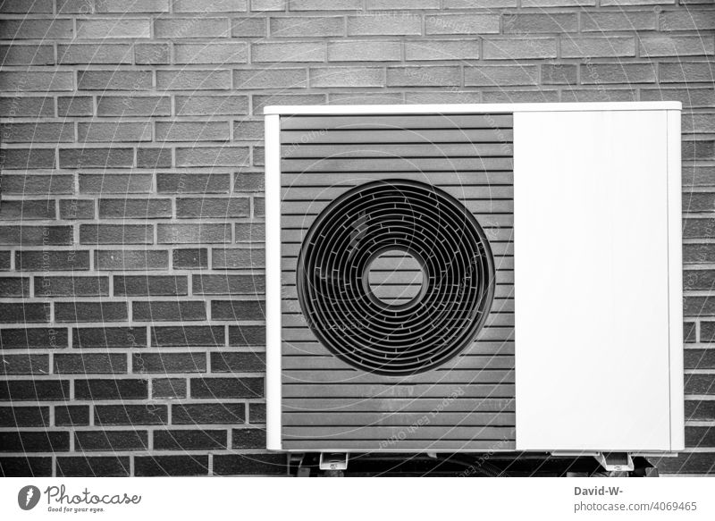 Air source heat pump - ecological, sustainable and modern Air-to-water heat pump Warmth heating engineering Heating Environmental protection Ecological