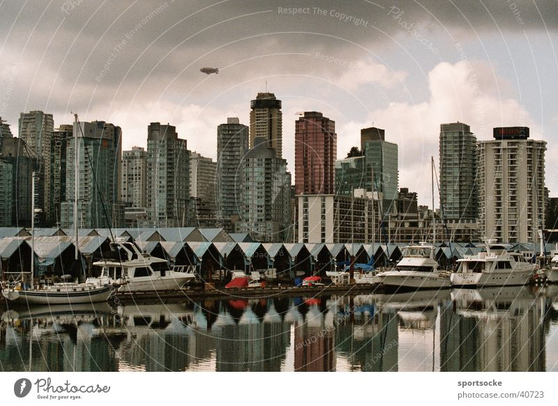 City Building Architecture High-rise Skyline Canada Vancouver