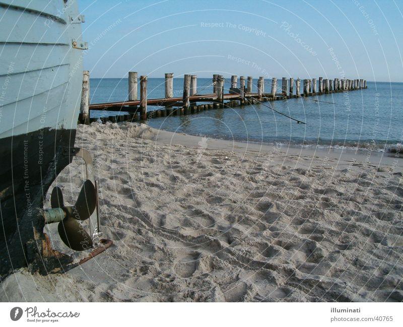 Water Ocean Beach Sand Watercraft Footbridge