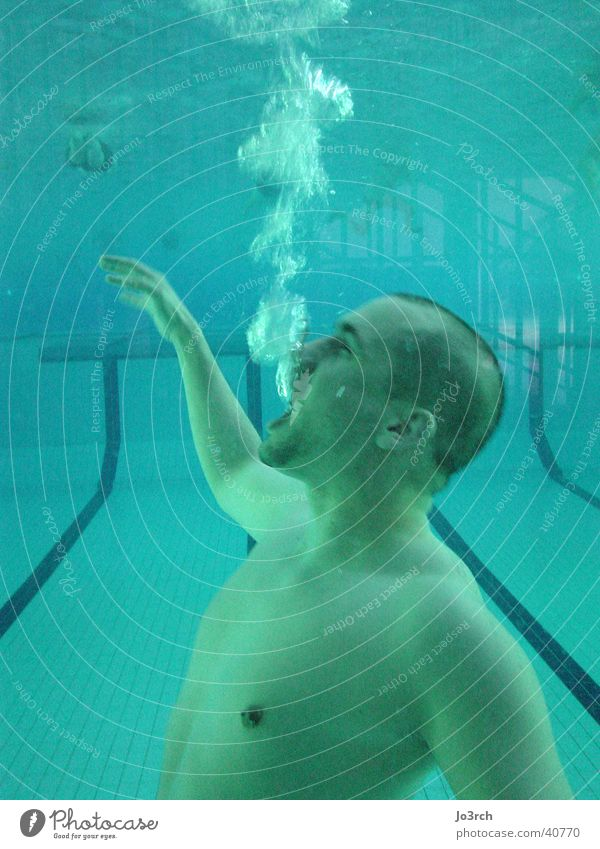 Man Water Sports Air Swimming pool Leisure and hobbies Dive Blow