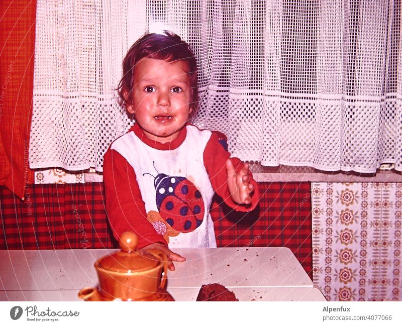 Semi-Happy Child Toddler Infancy Colour photo Boy (child) 1 - 3 years Interior shot Cry crying howl Sadness portrait Emotions Human being Pain Cute Small