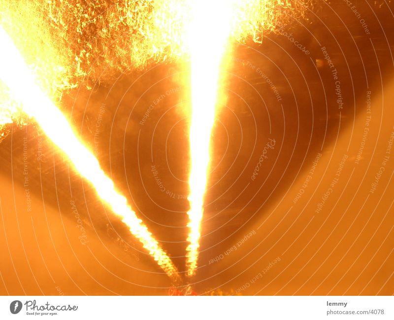 burning Blaze Long exposure