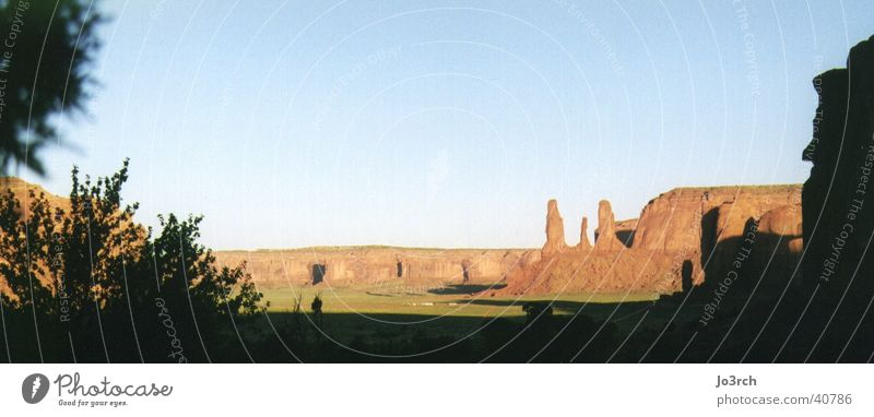 Monument Valley in the morning Utah Nature reserve Cowboy Wilderness Brand of cigarettes South West landscape USA