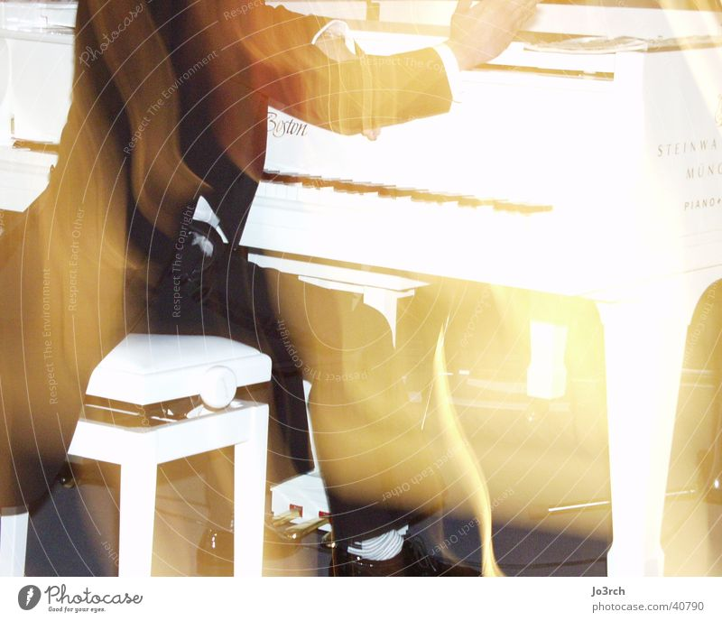 piano player Piano Light Blur Man Music
