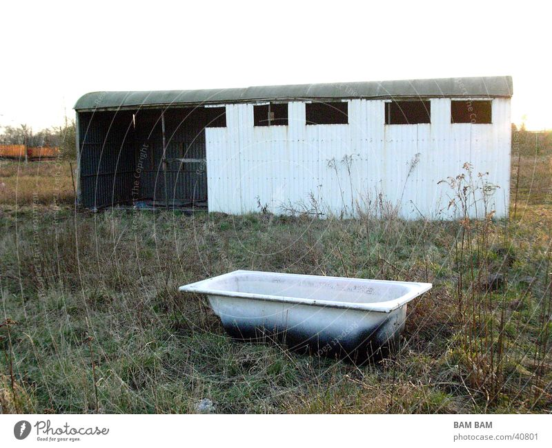 House (Residential Structure) Meadow Things Bathtub Hiding place Sinti Settlers of Catan Tin wagon