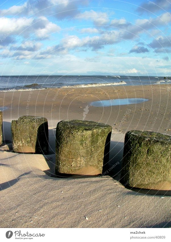 Ocean Beach Sand Baltic Sea Usedom