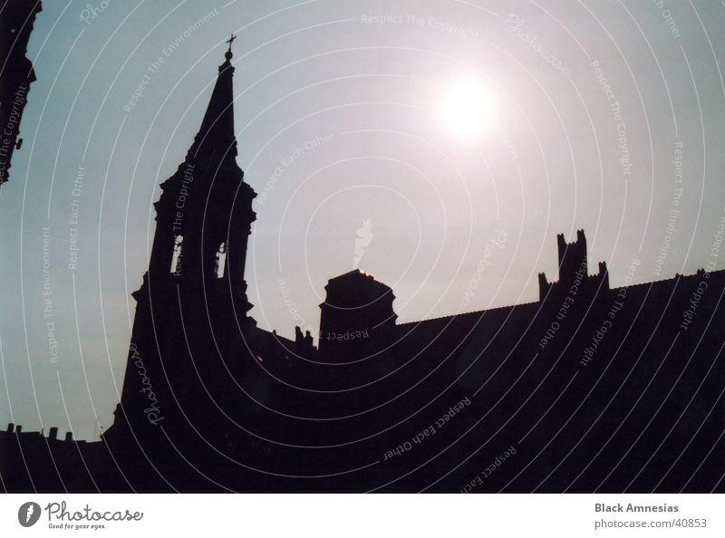 Sky Vacation & Travel Sun Architecture Religion and faith Poland Torun