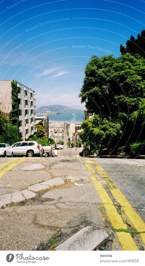 Street California North America San Francisco Alcatraz
