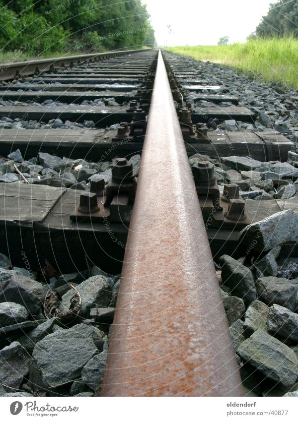 Loneliness Lanes & trails Transport Railroad Target Infinity Railroad tracks