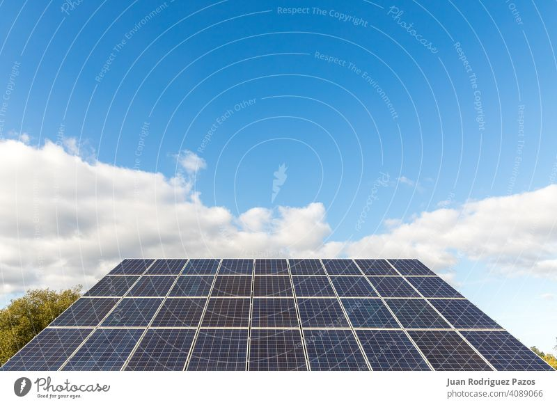photovoltaic solar power panel on sky background solar panel environment energy climate renewable sustainable green energy clean future sun electricity