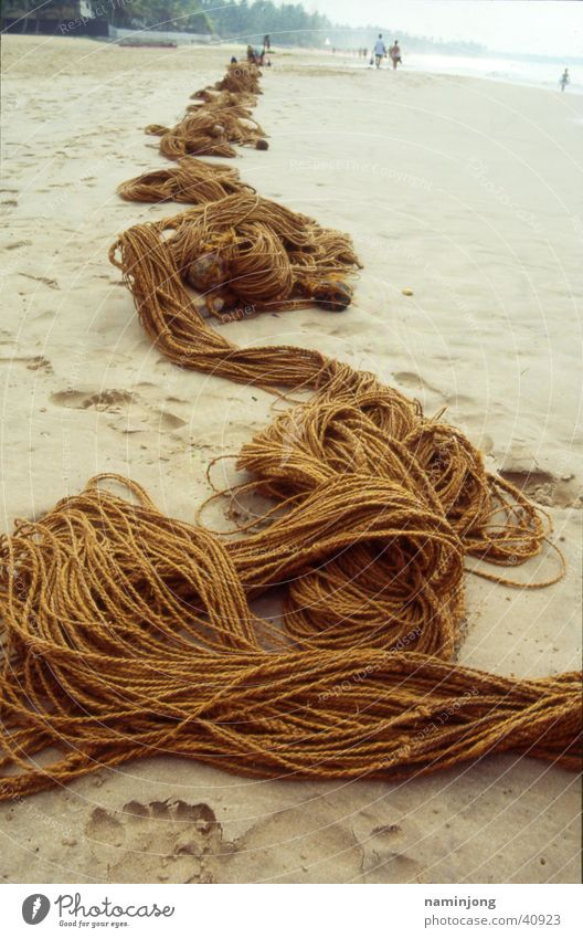 Beach Rope Net Fisherman Coconut Fishing net Los Angeles