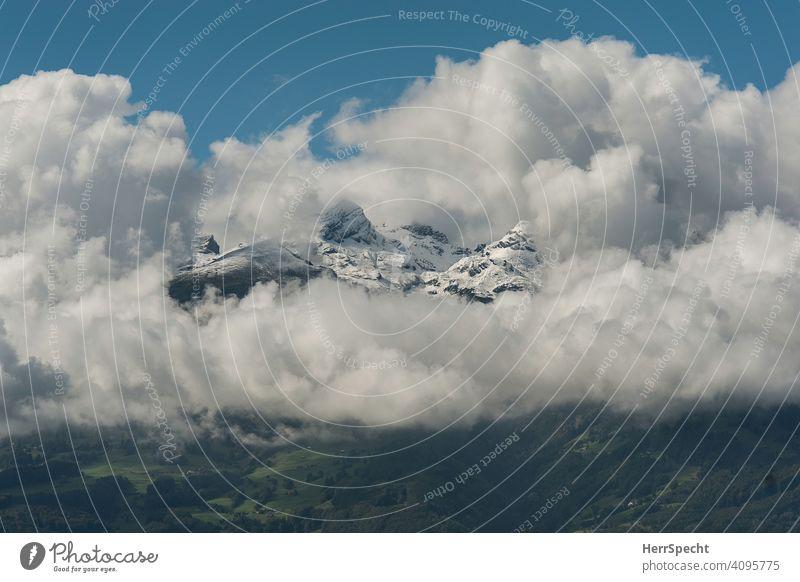 Clouds | Mountains Alps Cloud formation Deserted Peak Snowcapped peak Nature Exterior shot Landscape Sky Cloud field Natural phenomenon Travel photography