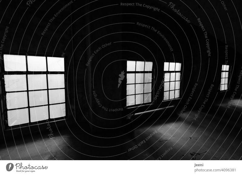 Bringing a little light into the darkness   shadow and light Window Window pane Window panes Light Bright Dark Shaft of light Open Light (Natural Phenomenon)