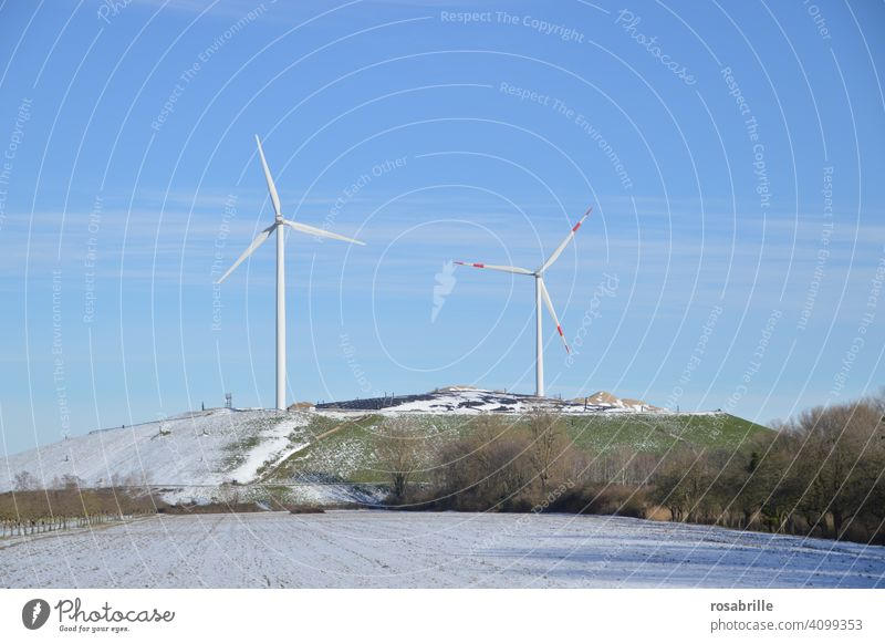 Recommendation | Use more electricity from renewable sources wind power Wind energy plant wind farm Energy stream Environment Eco-friendly wind turbine