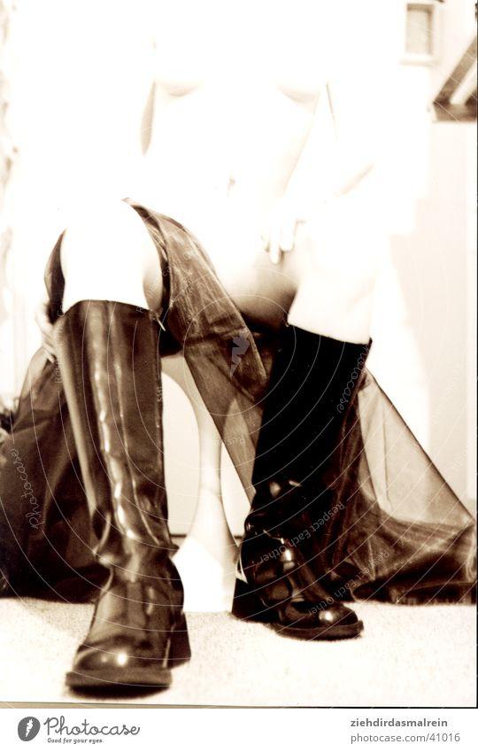 boots Footwear Boots Woman Soft Blur Sepia
