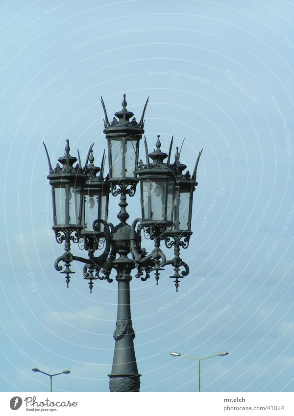 clash of civilizations Lantern Semper Opera Dresden Classic Street lighting Luxury Light Europe Old Modern New