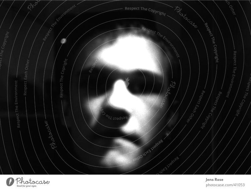portrait Portrait photograph Human being Face Black & white photo