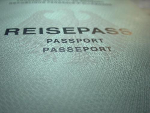 passport please Identification Things Macro (Extreme close-up) Travel pass Heraldic animal Pattern Safety Human rights Paper Copy Space bottom Deserted