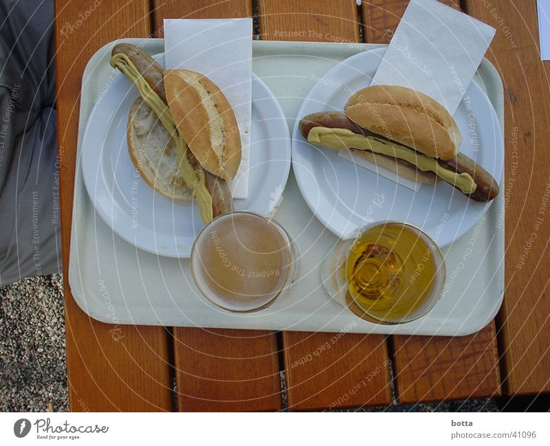 Nutrition Sausage Beer garden