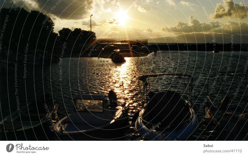Water Sun Watercraft Europe Harbour Greece Crete