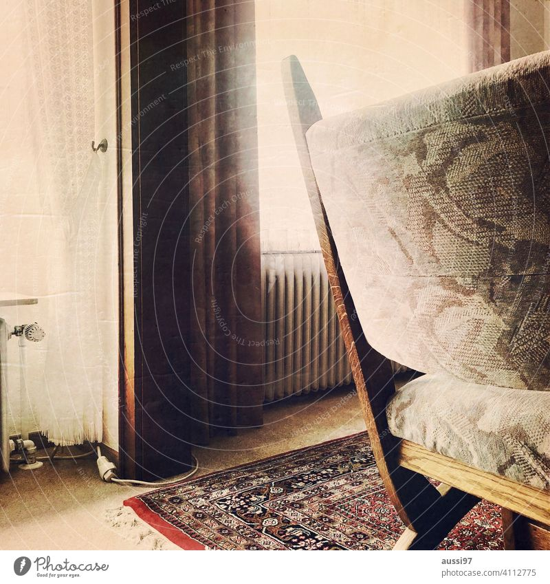 Scenes of living 2 Carpet dwell Life Oak furniture Runner Living or residing Deserted House (Residential Structure) Loneliness furnishing Chair Heater Window