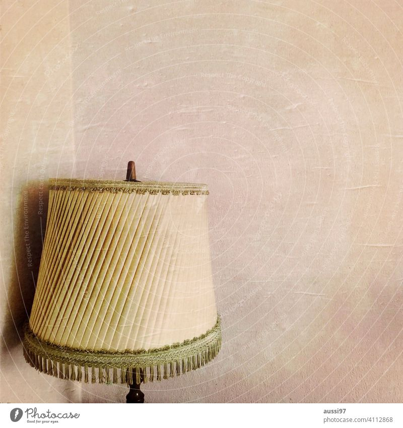 Scenes of living 6 dwell Life Oak furniture Living or residing Deserted House (Residential Structure) Loneliness furnishing Lamp Lampshade Interior shot