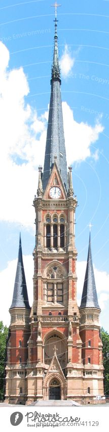 Sky House (Residential Structure) Building Religion and faith Architecture Clock Castle Spire