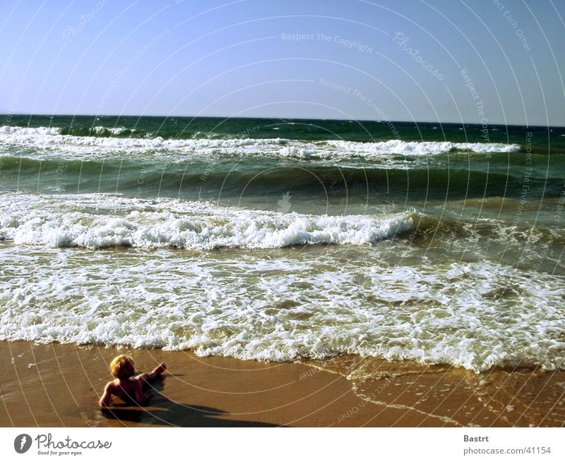 Sun Ocean Joy Beach Vacation & Travel Relaxation Sand Waves Europe Island Lie Italy Swimming & Bathing Bay Ambient Corsica