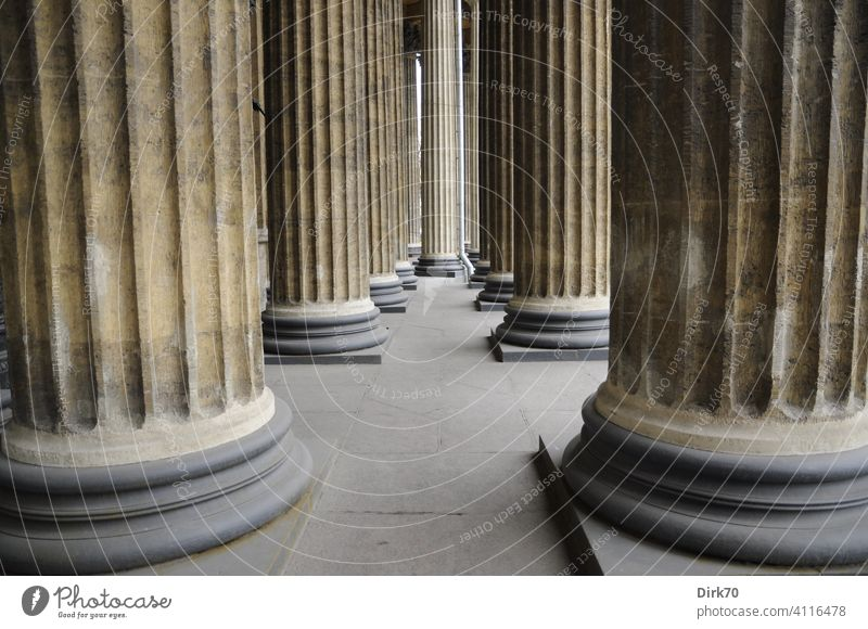 Forest of columns - detail of the colonnades of the Kazan Cathedral, St. Petersburg UNESCO World Heritage Site Architecture Historic Building Old Tourism Europe