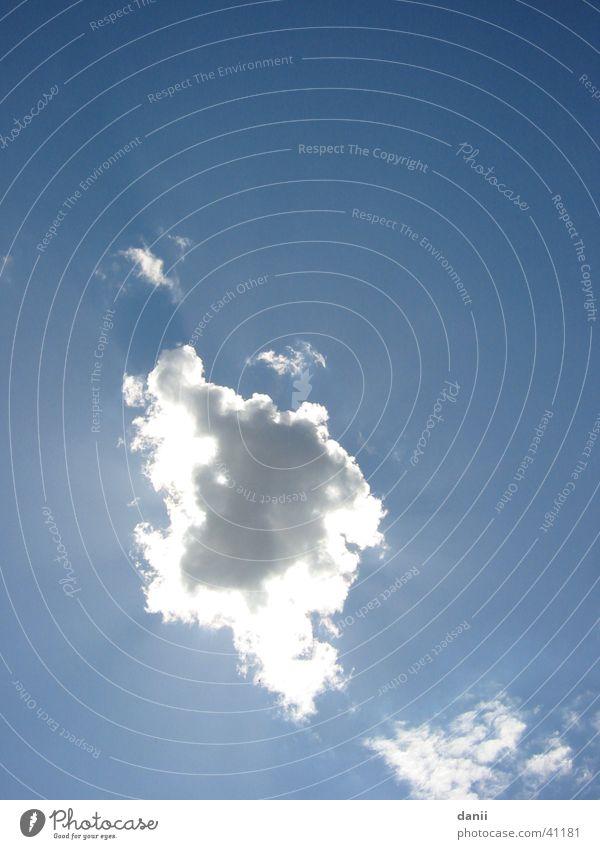 Sky Sun Blue Clouds Far-off places Weather Sunbeam